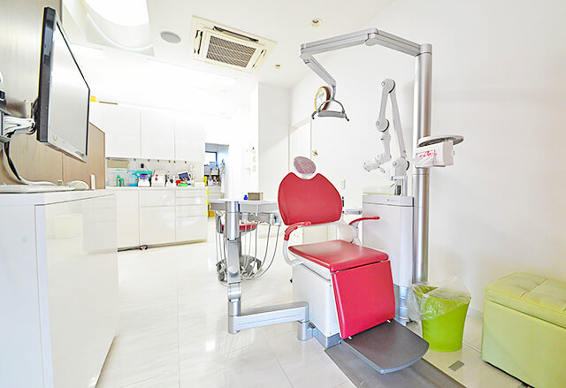 しのざき歯科医院 診察室