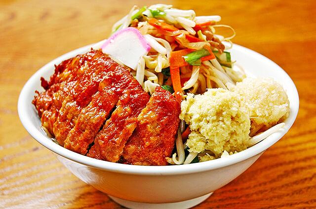 極濃湯麺フタツメ越戸店のタンメン