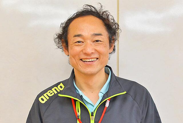 宝木スイミングクラブクラブ長の櫻田祥一さん