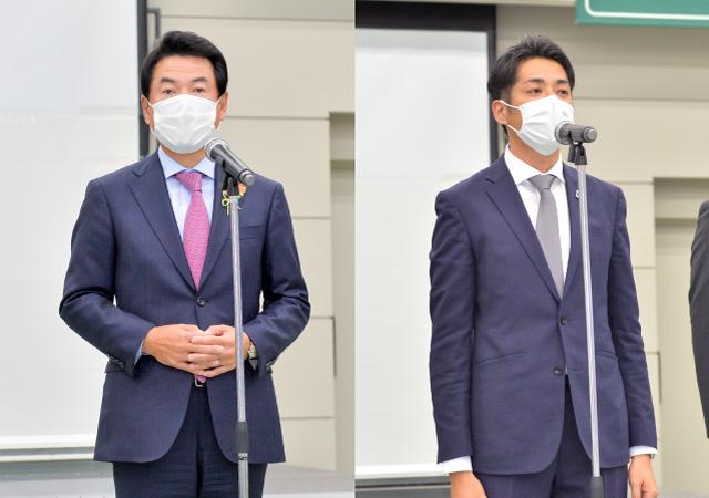 佐藤栄一市長と澤村会長